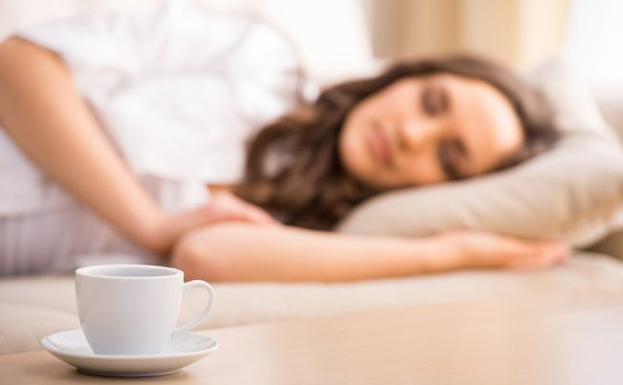 siesta de café
